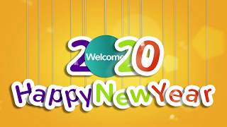Happy New Year 2020 Free Download After Effects Templates