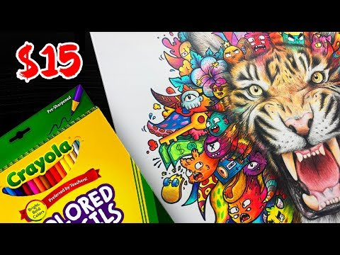 CHEAP ART SUPPLIES CHALLENGE! (They were actually good!) 250k Special + Giveaway