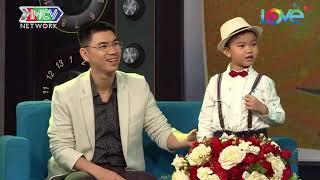 """Kira và MC Quyền Linh """"ĐUỐI SỨC"""" trước lượng kiến thức của """"GIÁO SƯ BIẾT TUỐT"""" tí hon Minh Khang 😛"""