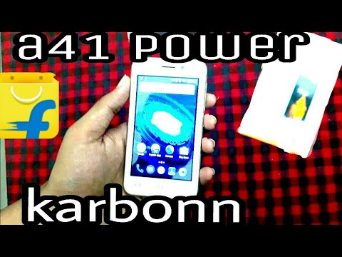 Karbonn A41 power unboxing and review/ by FUN PROP/