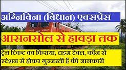Agnibina (Bidhan) Express | Asansol to Howrah Train | 12342 Train | Train Information