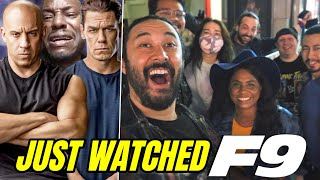 JUST WATCHED FAST & FURIOUS 9! Group Reaction & Honest Thoughts From Theater!! (F9)