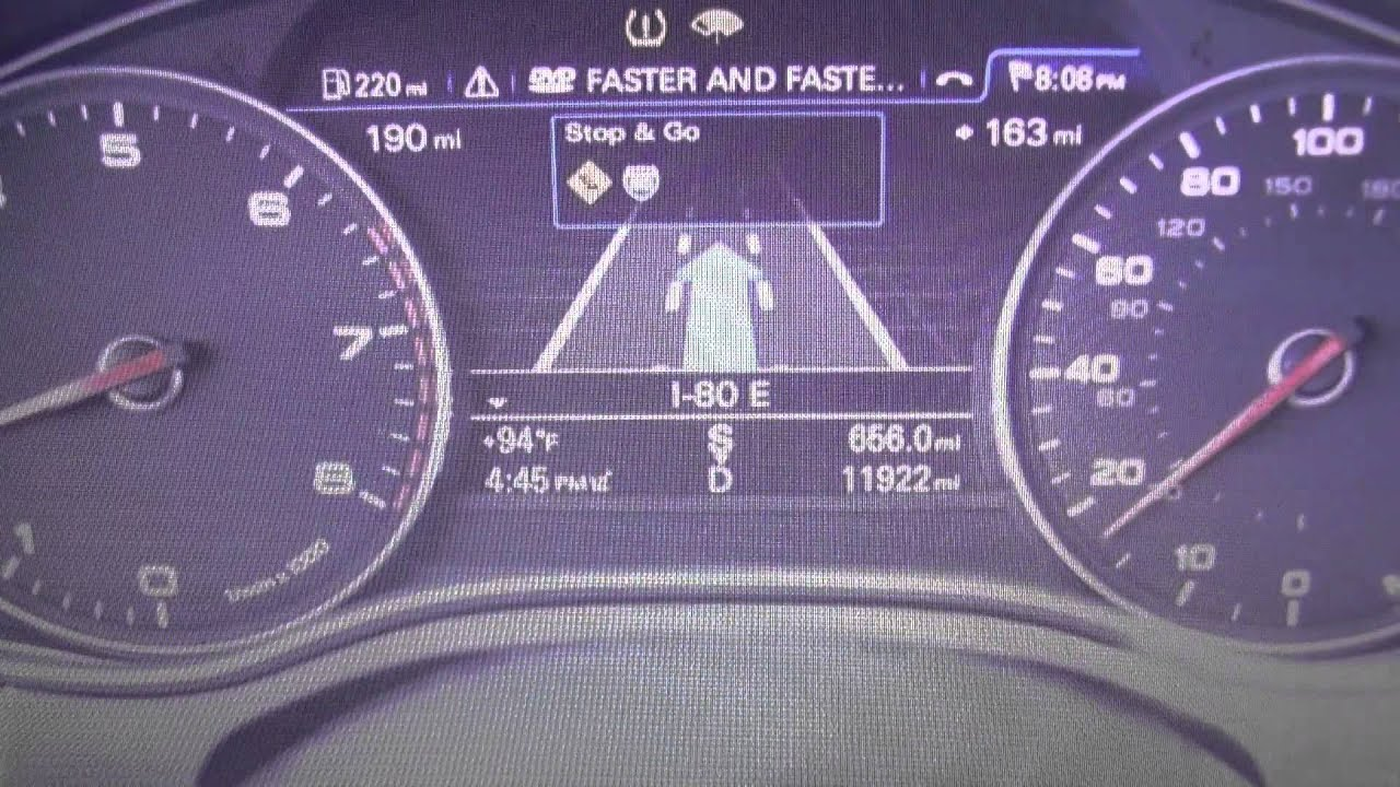 Audi A7 engine EPC dash warning light symbol how to remove