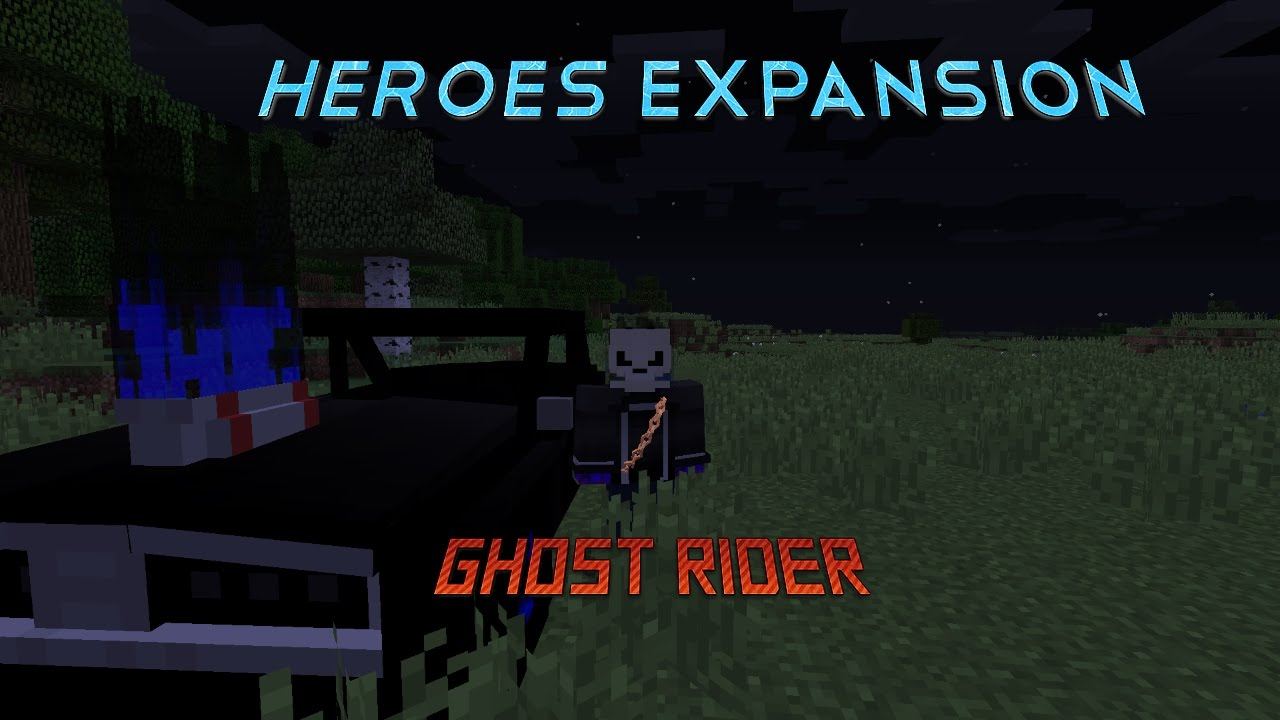 Heroes Expansion Ghost Rider (Minecraft)
