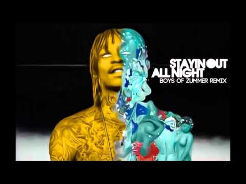 Wiz Khalifa (feat. Fall Out Boy) - Stayin Out All Night [Boys of Zummer REMIX] [HD]