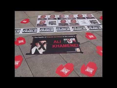 Azadegan Norway : No to the Islamic regime of Iran 20 08 2016
