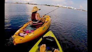 I love teaching people how to Saltwater Fish | Kayak Fishing Pensacola