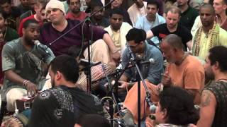 24 Hour Kirtan at New Vrindavan - 2013 - Kirtan by Ananta Govinda das