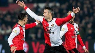 Robin Van Persie Goal VS Groningen [Debute Goal]