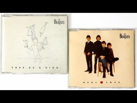 The Beatles - Free As A Bird, The Beatles - Real Love, Singles CD Unboxing