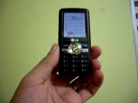 Celular LG GM205 Music