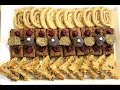 4 vrste sitnih kolača od jedne mase - Sitni nepečeni kolači