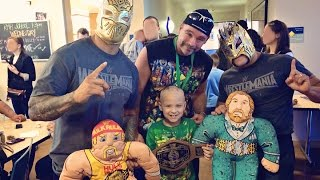 49ers & Wrestlers, an RMH Visit!!! (Daily #220)