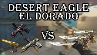 Crossfire NA: Desert Eagle El Dorado VS Noble/VIP | Comparison | Review | Gameplay