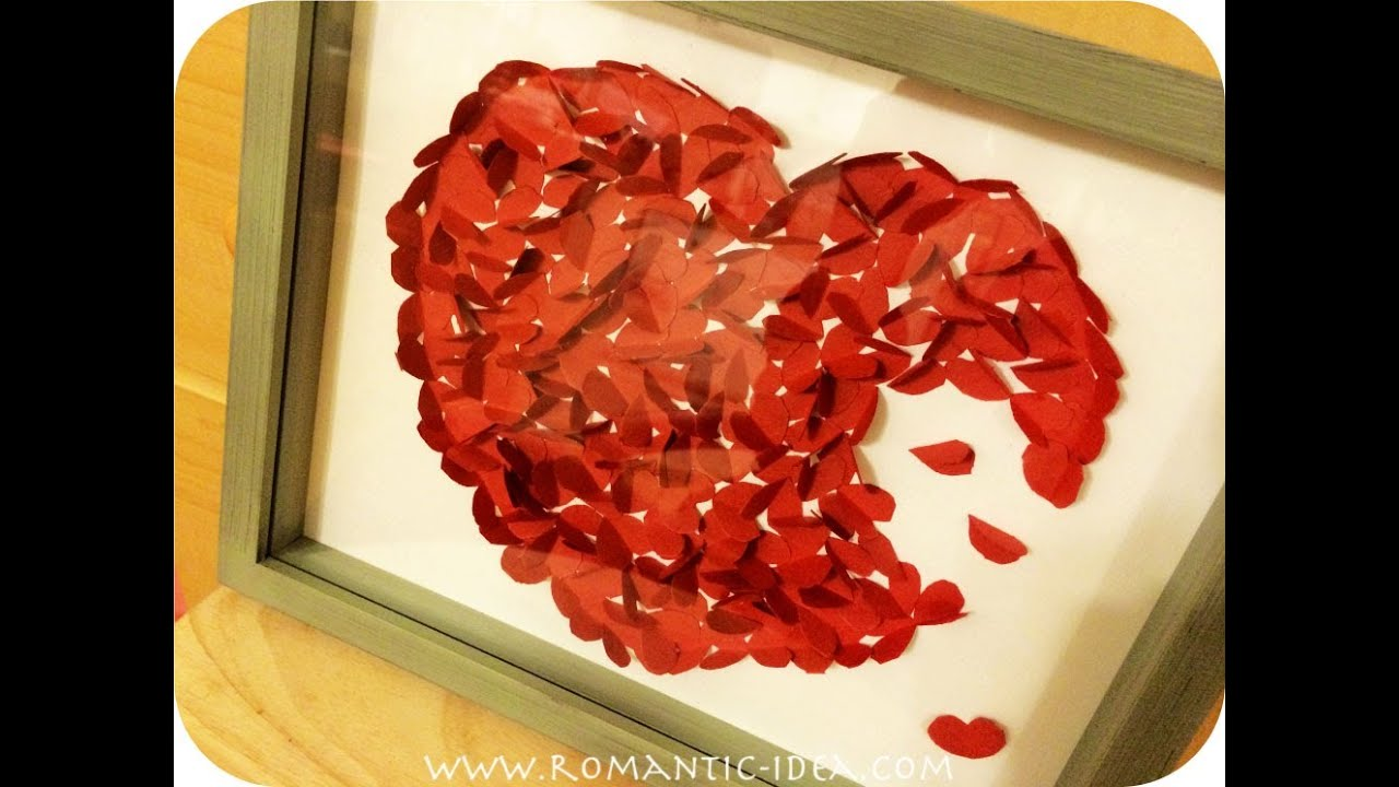 how to make romantic handmade gift present for valentine boyfriend