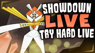 TRYHARD BATTLING: Pokemon Ultra Sun and Ultra Moon Showdown Live! w/ Commentary