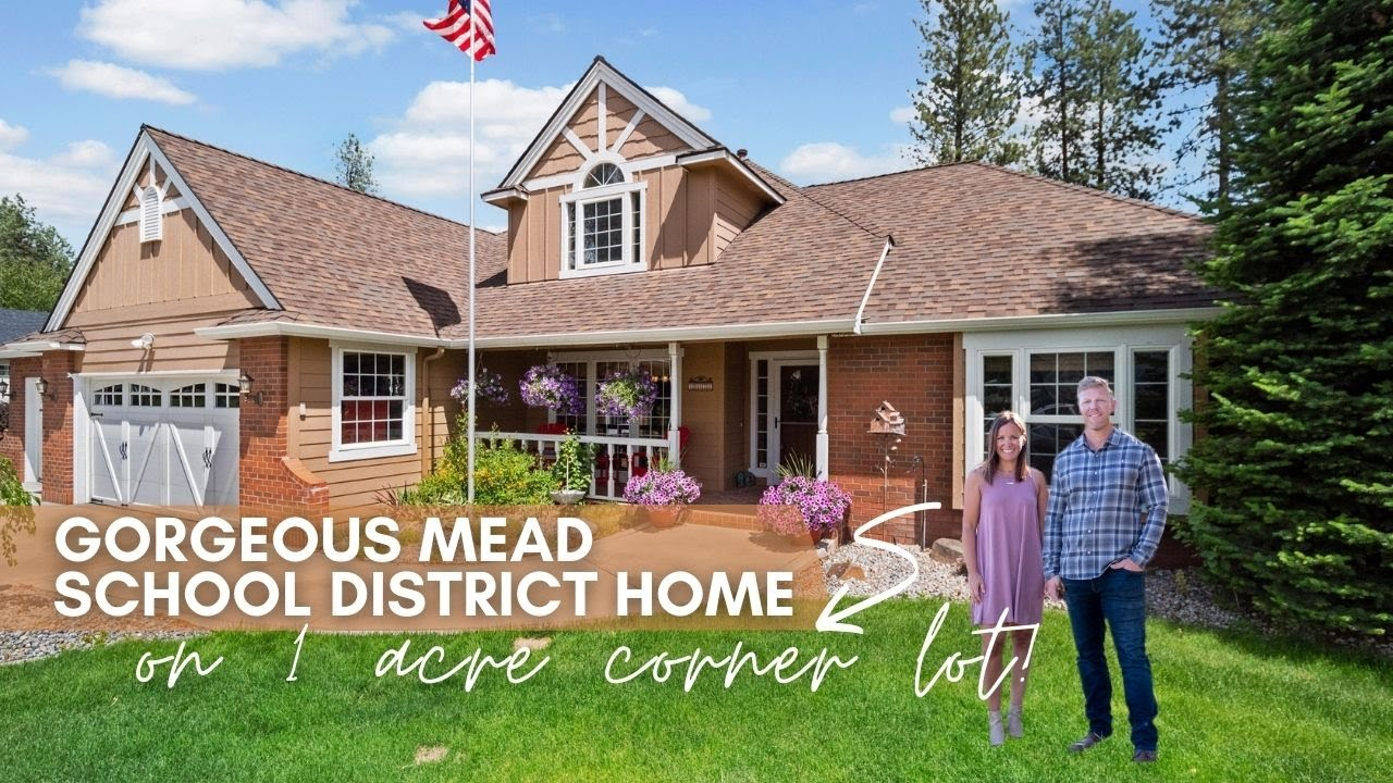 Beautiful Mead Home on Corner Lot