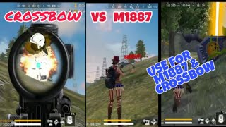 NEW WEAPON M1887 USE FOR ADVANCED SERVER amp FULL DETAILS IN UPDATE FREE FIRE GALAXY GAMERS