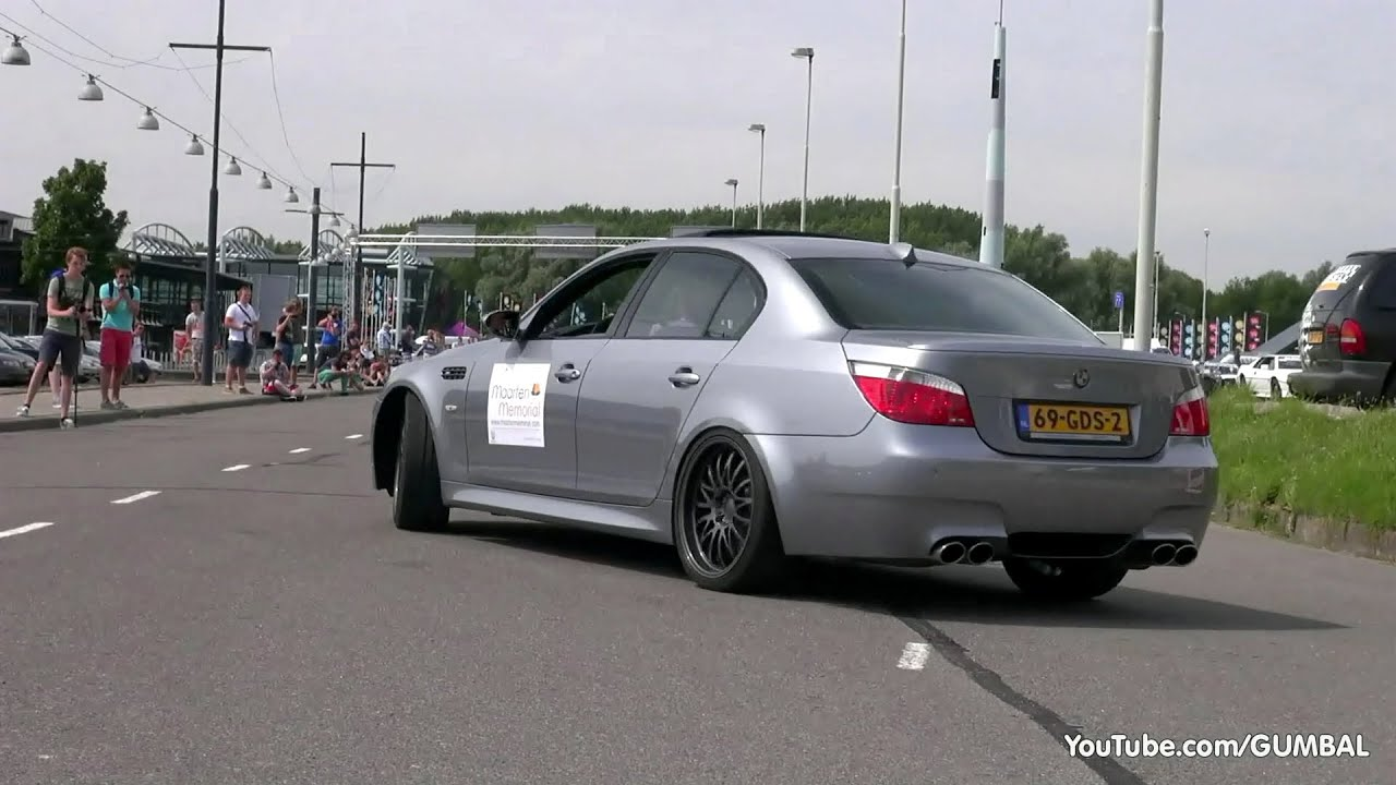Bmw E60 M5 V10 W Mosselman Performance Package 561hp Youtube