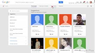 Google + - How To Create A New Circle