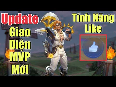 Update LQM: Tính năg Cổ vũ trong trận và Giao diện MVP mới - Nakroth PBM múa mượt hơn nhiều