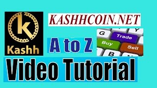How to SignUp/Login Kashhcoin/Cashhcoin !! How to buy KashhCoin Nova Exchange