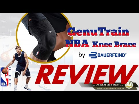 GenuTrain NBA Knee Brace by Bauerfeind Review [2019]