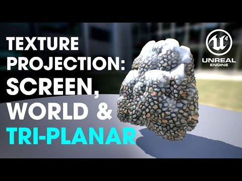 UE4 Tutorial 101 — Texture Projection 2/2