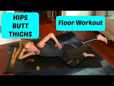 Floor Workout: Hips, Butt, & Thighs