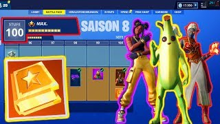 SEASON 8 BATTLE PASS LvL 100! (Secret Challenge FREE) | Fortnite