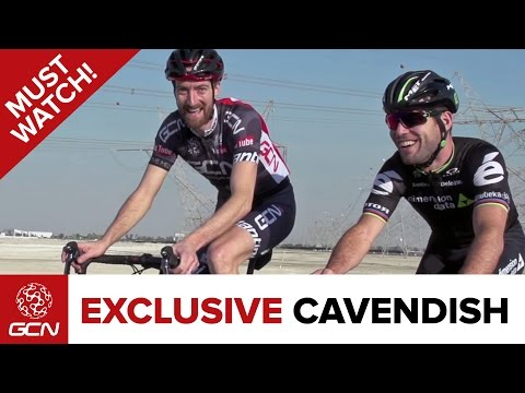Exclusive Mark Cavendish Interview At The Dubai Tour 2016