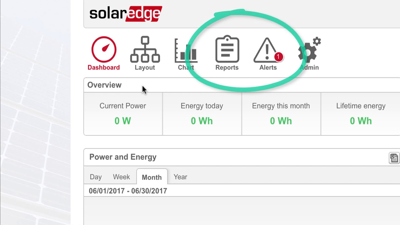 SolarEdge Monitoring Reporting and Solving Issues FINAL