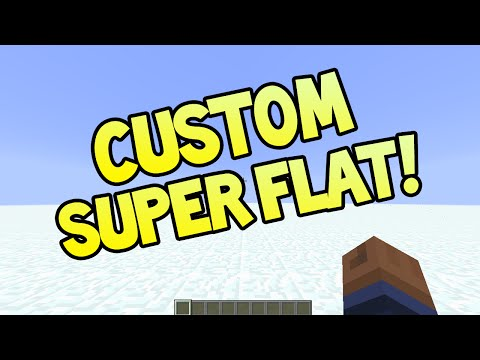 Minecraft (Xbox360/PS3) - TU22 UPDATE! - CUSTOM SUPERFLAT WORLDS + MORE INFO!