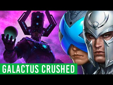 PROFESSOR X & MAGNETO vs GALACTUS - Marvel Future Fight