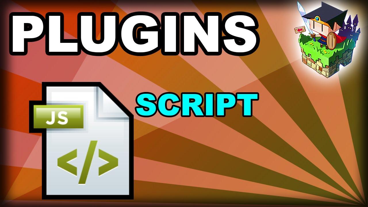 Como inserir plugins (scripts) - RPG Maker MV