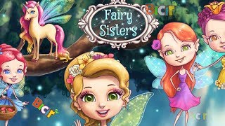 Fairy Sisters Fun Girl Care Game - Magical Fairy Makeover & Animal Care Games For Girls