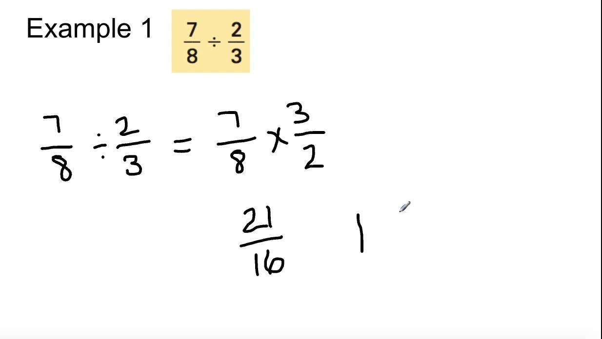 Grade 8 math 98 dividing fractions youtube grade 8 math 98 dividing fractions ccuart Choice Image