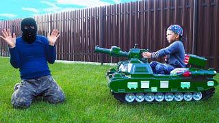 تشتري سينيا دبابة جديدة للقبض على لص