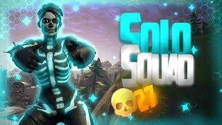 "27 KILLS ""SOLO"" VS SQUAD C/NEW SKIN ""SKULL GUARD"" (Fortnite Battle Royale PS4 PRO)"