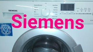 Стиральная машина Siemens. Короткий обзор. Сравнение с Miele.