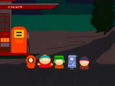 southpark handtuch