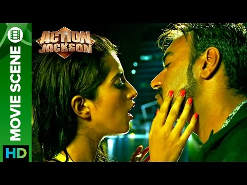 Ajay Devgn says no to a kiss | Action Jackson
