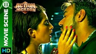 ajay devgn says no to a kiss   action jackson