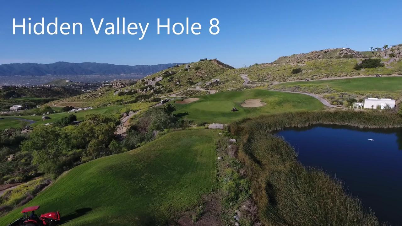 Hidden Valley Golf Club. Hole #8 - YouTube