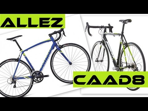 Cannondale caad8 vs specialized allez alloy road bikes error on c