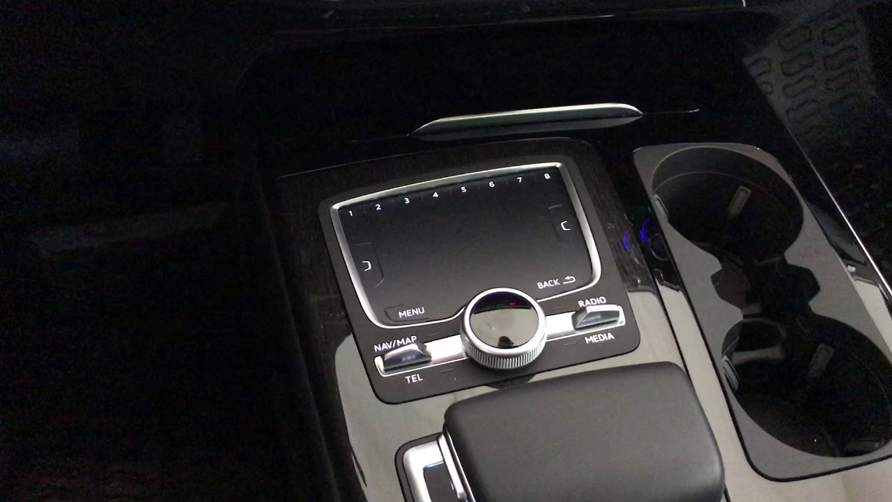 How to Reset Engine Oil Service Minder Light on New Audi Q7