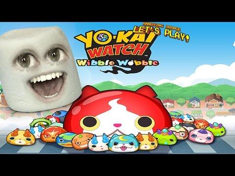 Marshmallow Plays - Yo-Kai Watch Wibble Wobble