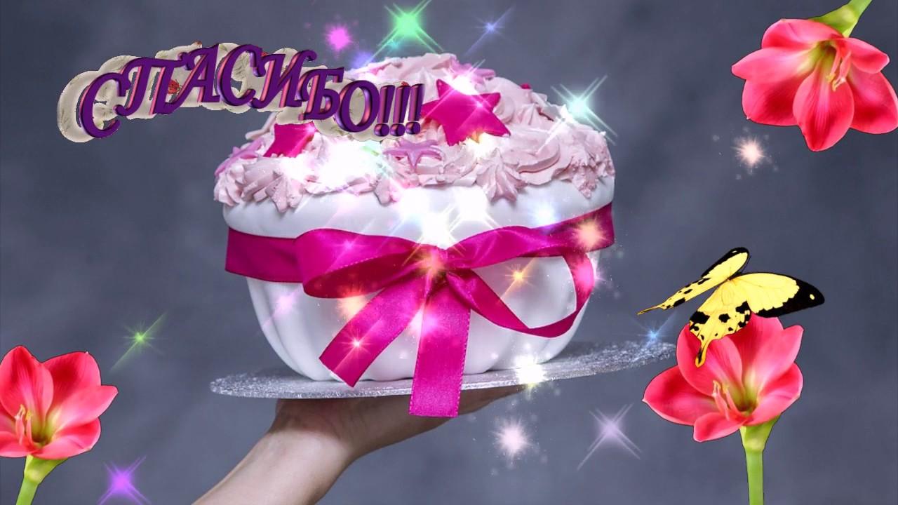 Как можно поблагодарить за поздравление с днем рождения