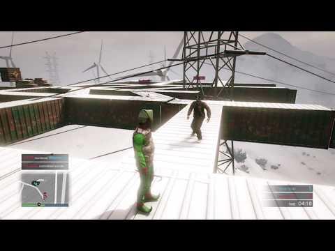 GTA 5 Team Deathmatch (Crazy Elf #4)  Christmas Stick killer