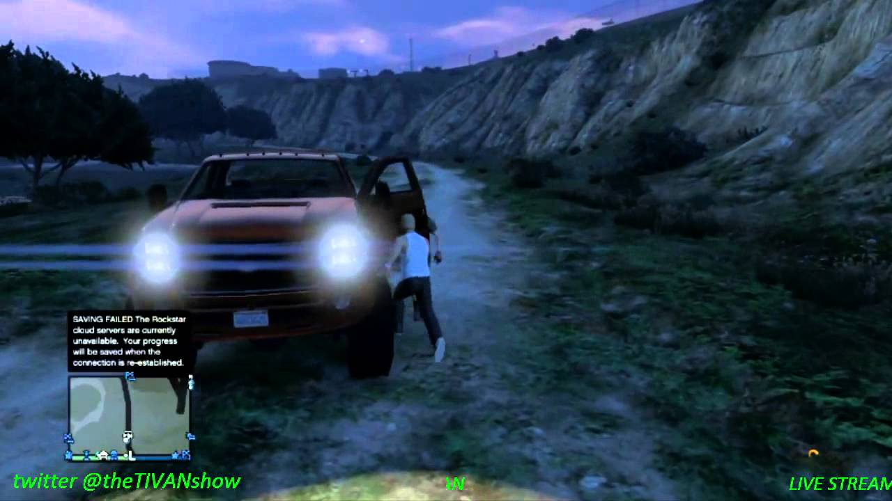 GTA 5 the hunt for a great truck